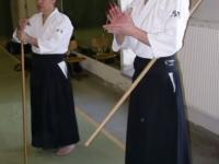 Семинар Сугавара Сэнсэя в Финляндии, весна 2004 года. Тэцутака Сугавара Сэнсэй, Петтери Силениус Сэнсэй.