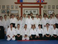 Айкидо. Фотография участников семинара, сентябрь 2004.