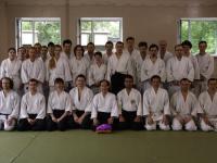 Общая фотография участников семинара по Айкидо.