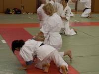 Тренировка в клубе айкидо университета Васэда. Токио, Япония.