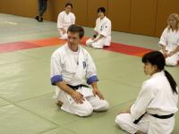 Карашевский Алексей, Тренировка в клубе айкидо университета Васэда. Токио, Япония.