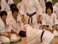 Фумиаки Шишида сихан, семинар по Айкидо. Киото Япония.