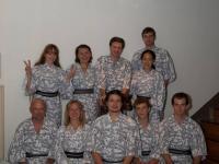 Участники семинара по Айкидо под руководством Тадаюки Сато сэнсэя. Имабари, Япония.